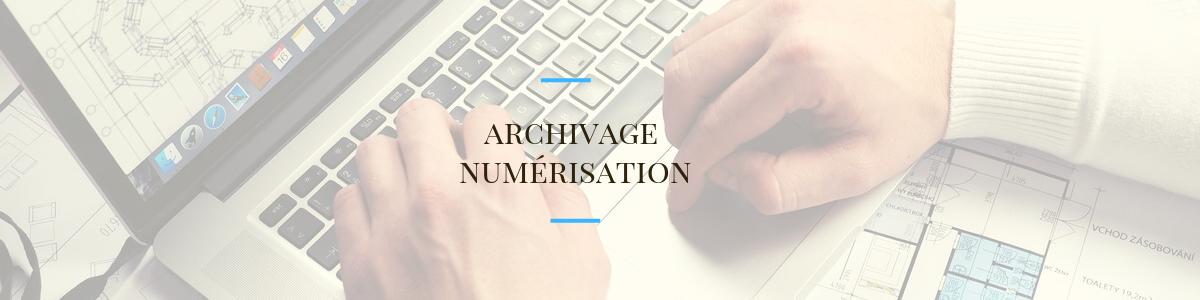 Archivage numérisation