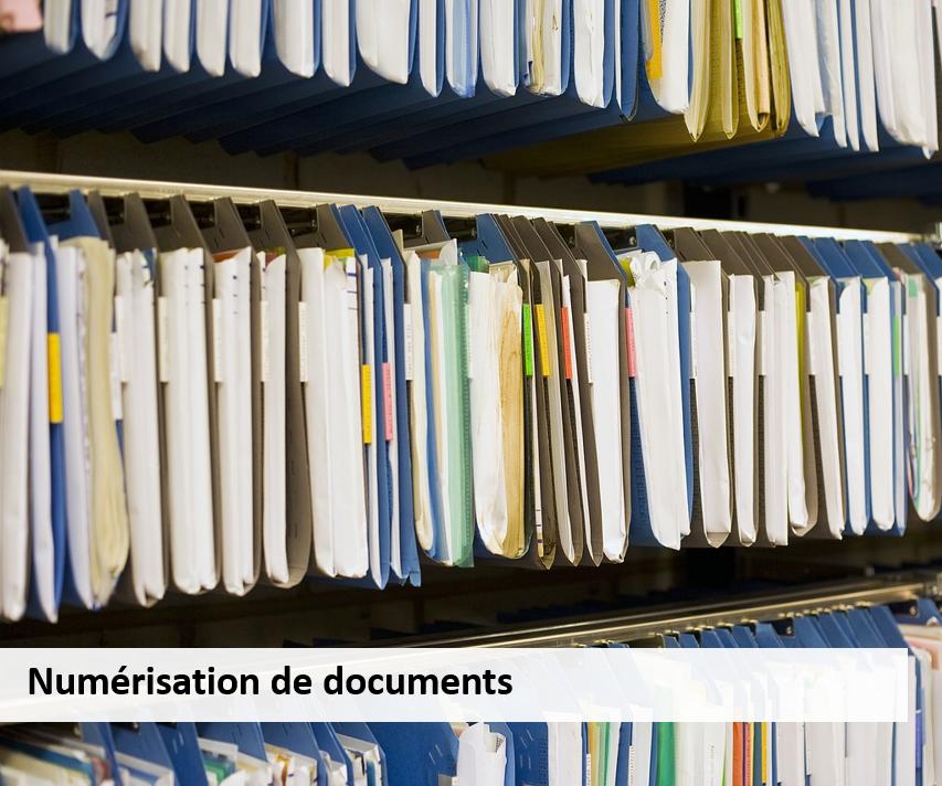 Numérisation document