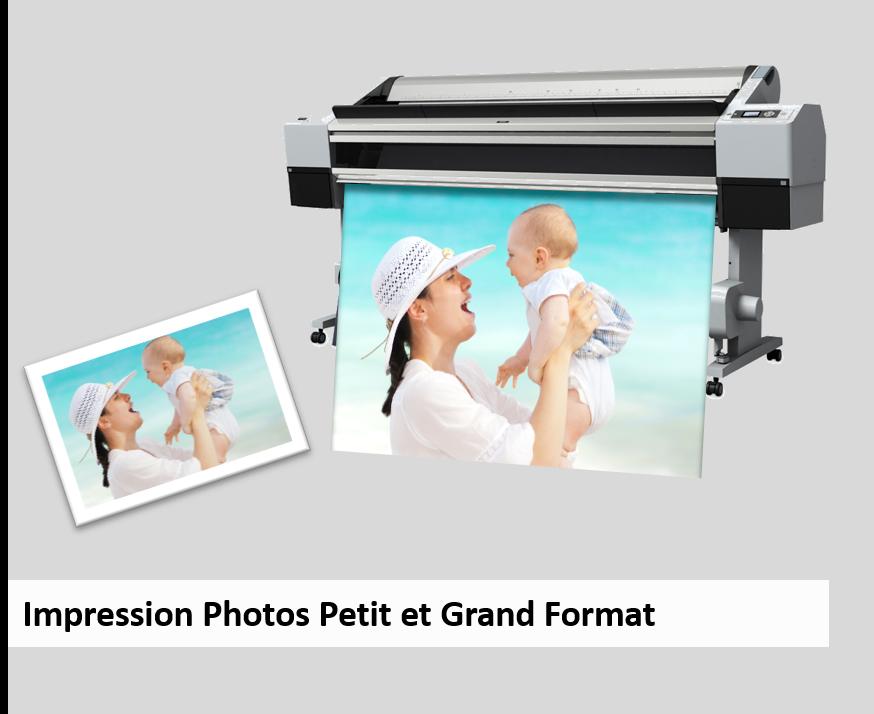 Impression photo petit et grand format