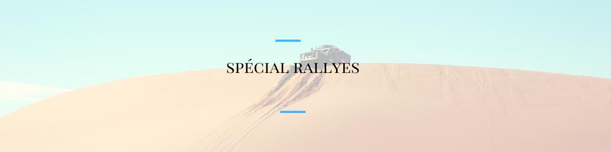 spécial rallyes
