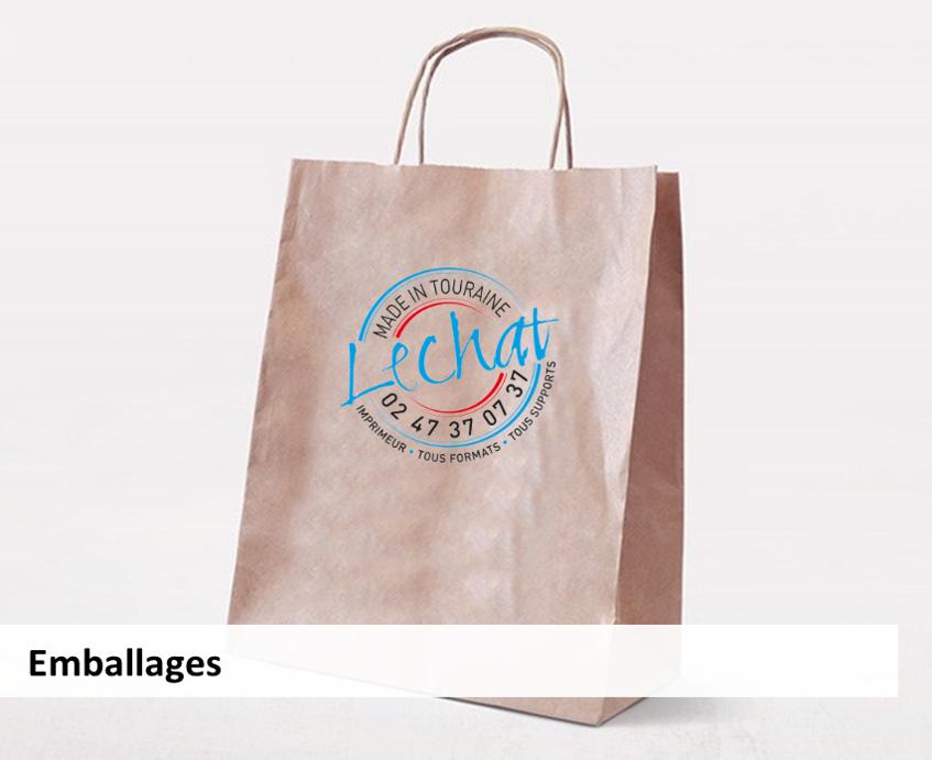 emballages sac en papier