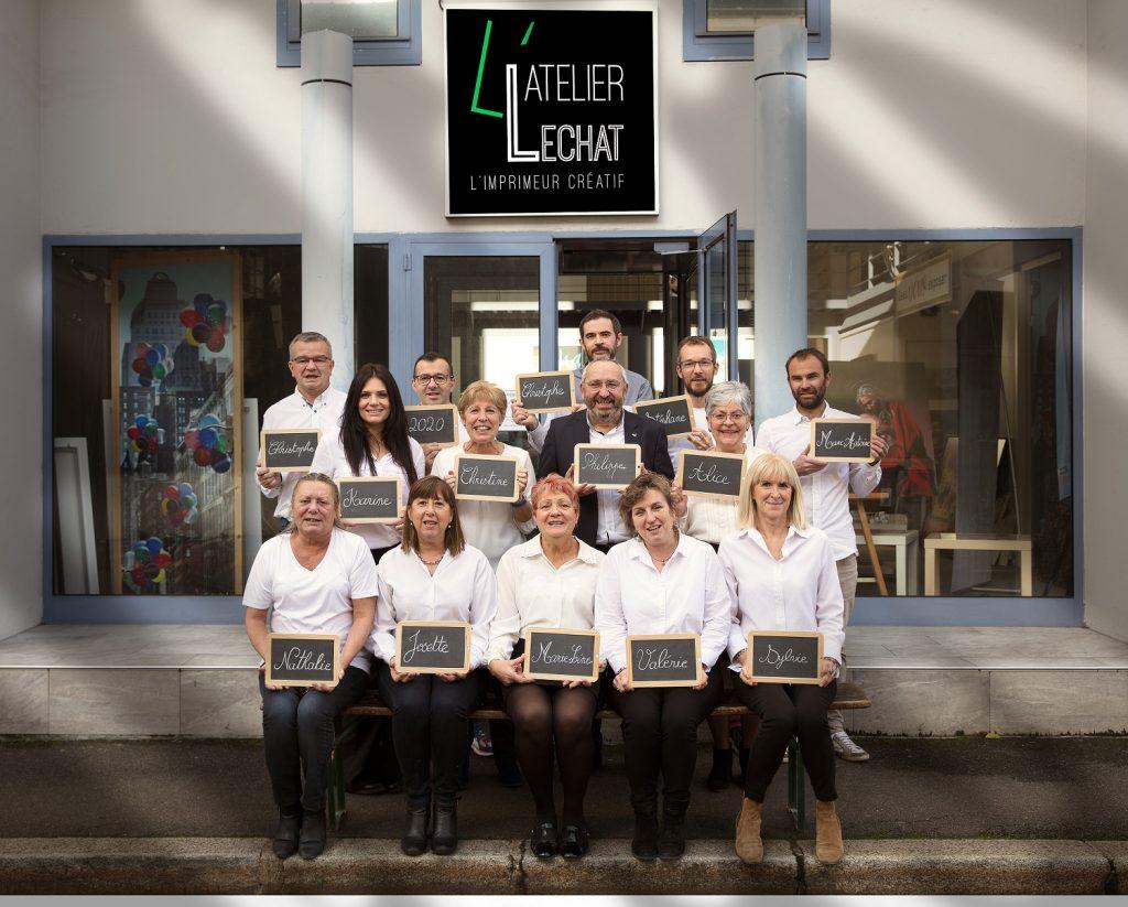 équipe Lechat Impressions