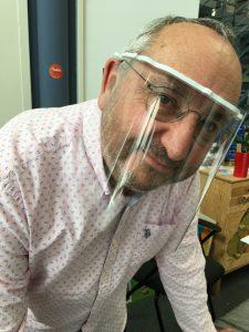 Masque visière protection Lechat