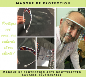 Masque de protection Lechat