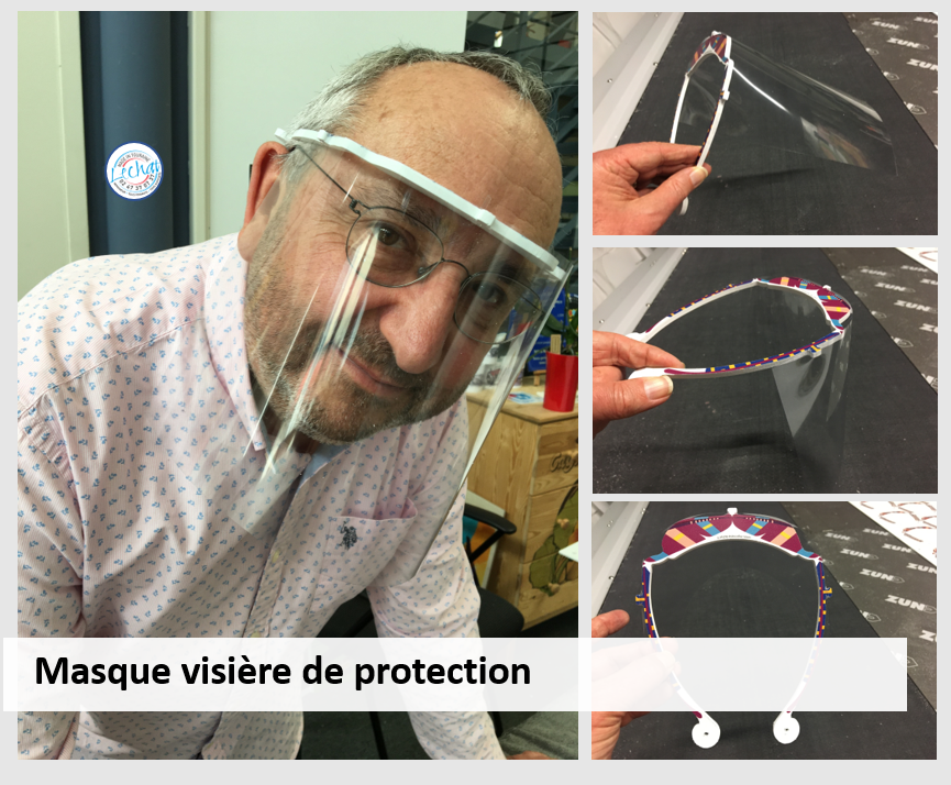 Masque visière protection