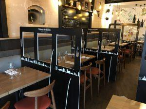 séparateur salle restaurant