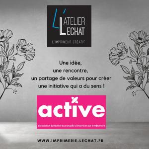 Partenariat Atelier Lechat - Asso Active